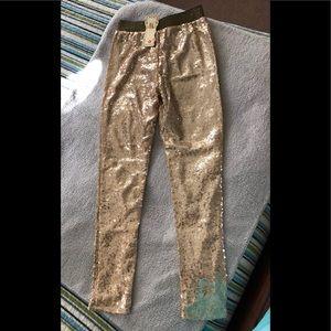 NEW Gold sequin leggings